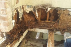 Balcony Wood Rot